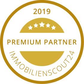 Tolxdorf Immobilien wurde 2019 von Immobilienscout24 als Premium Partner ausgezeichnet.