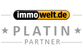 2012 wird Tolxdorf Immobilien von der Immowelt AG mit dem PLATIN PARTNER AWARD gekürt.