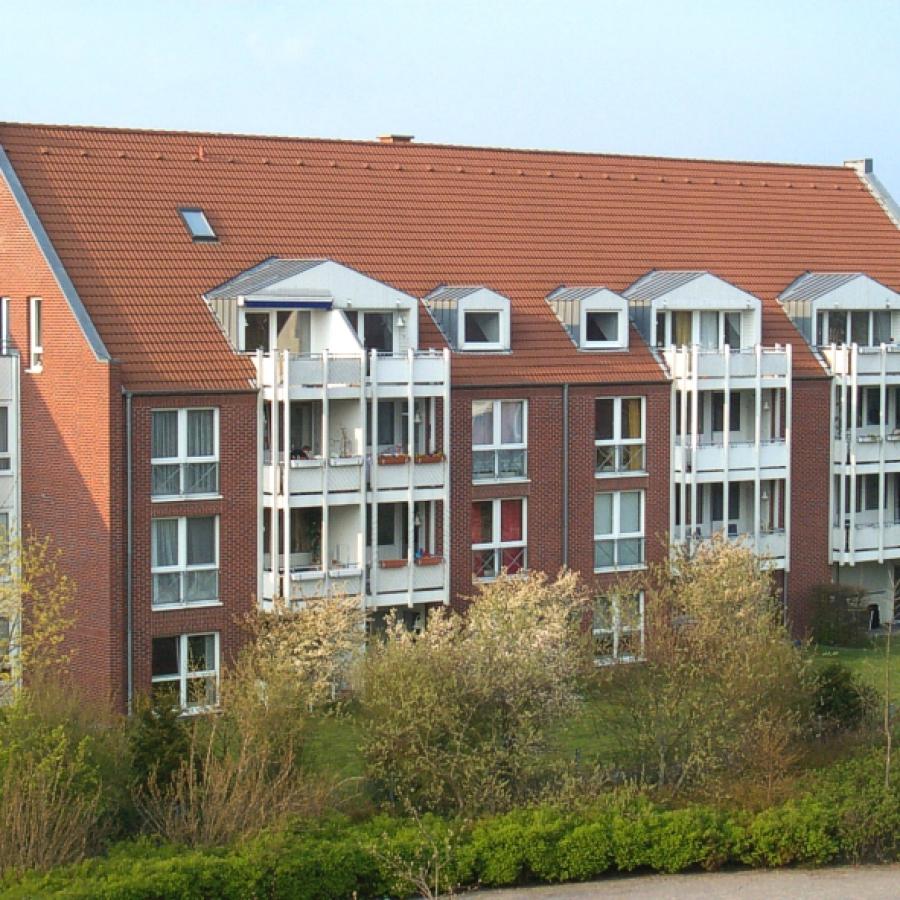 Meerbusch-Strümp - Hausansicht Düsselweg 1-5