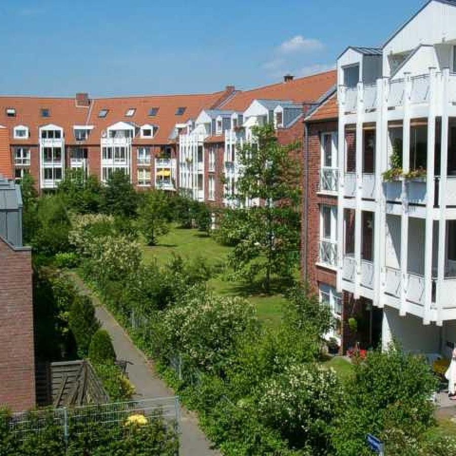 Meerbusch-Strümp - Hausrückseiten Josef-Kohtes-Straße